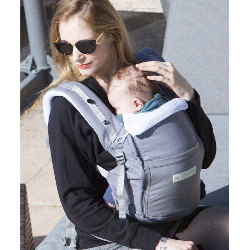 Porte bébé Physiocarrier grisde love radius