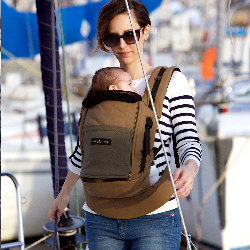 Porte bébé PhysioCarrier Coton Safari - Love Radius