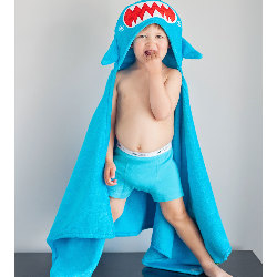 Cape de bain requin
