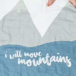 Zoom maxi lange I will move mountains