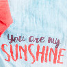 Zoom lange You are my sunshine coffret cartes étapes