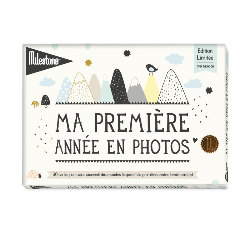 Coffret cartes étapes bébé, Over the moon de Milestone