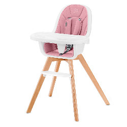Chaise Haute Kinderkraft TIXI Rose